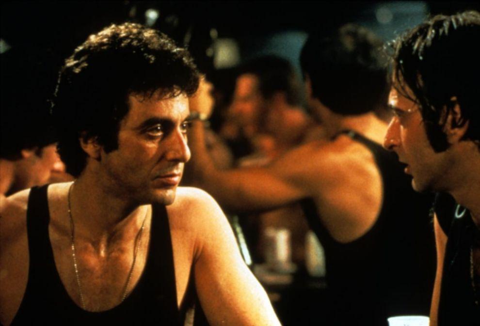 Steve Burns, Al Pacino en 'A la caza' (1980). ¡Otra vez Pacino! En...