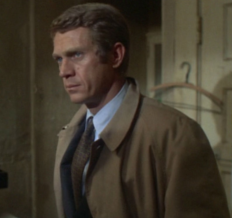 Frank Bullitt, Steve McQueen en 'Bullitt' (1968). Siempre mola ser...