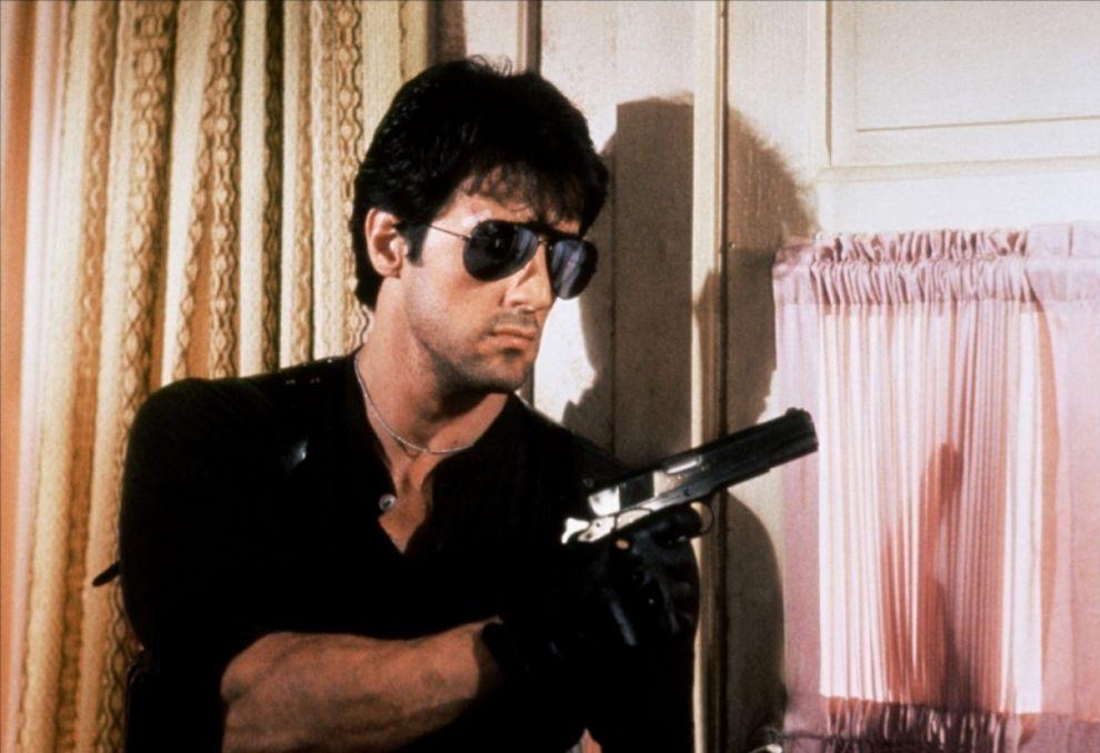Marion Cobretti, Silvester Stallone en 'Cobra' (1986). Éste sí que...