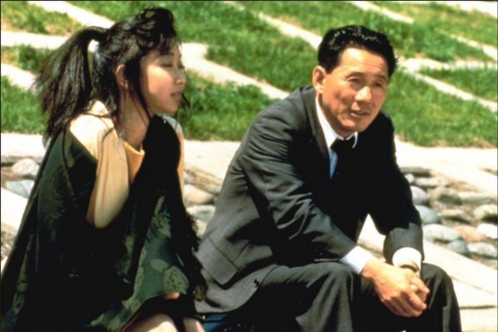 Azuma, Takeshi Kitano en 'Violent Cop' (1989). Takeshi Kitano pasó de...