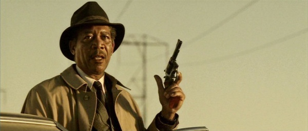 William Somerset, Morgan Freeman en 'Seven' (1995). Lo sacamos porque...