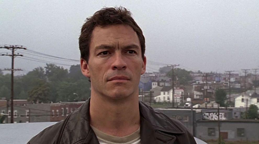 Jimmy McNulty, Dominic West en 'The wire' (2002). Baltimore es un...