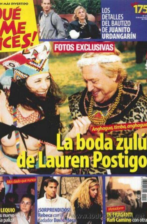 <strong>Lauren Postigo</strong>. Las generaciones más modernas ya no...