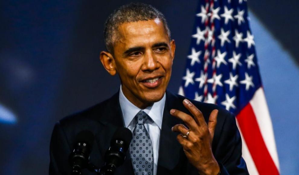 El presidente de EEUU, Barack Obama, en una reciente intervención...