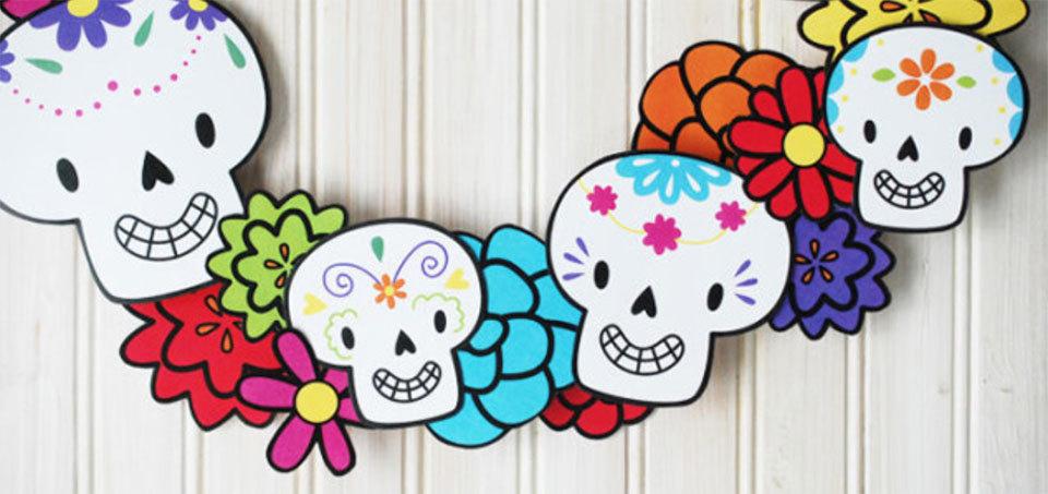 Manualidades Para El Día De Muertos Calaveras Mexicanas Sapos Y