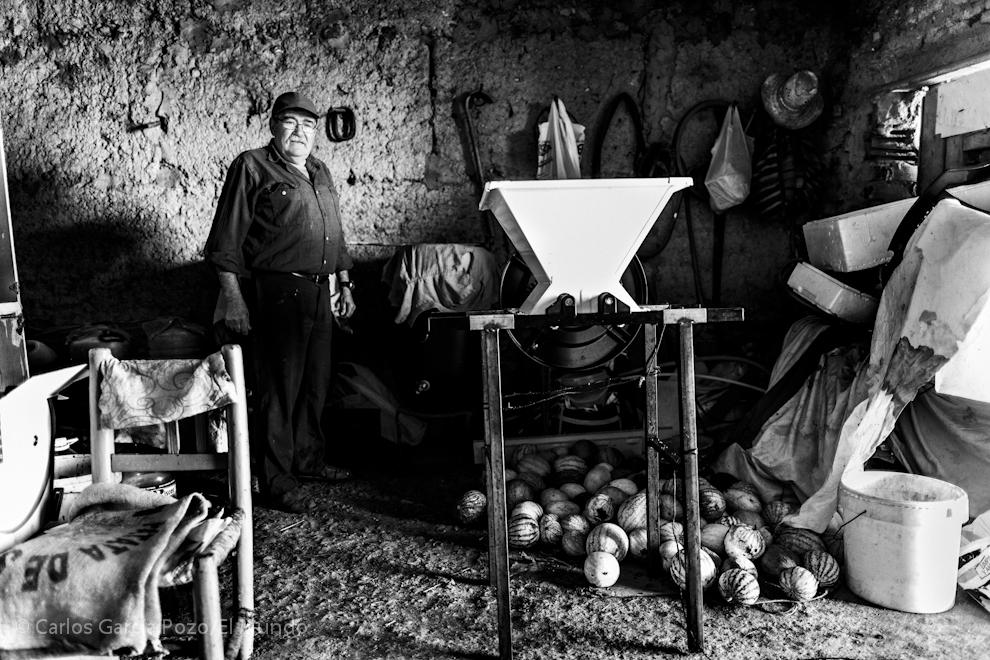 Pedro está jubilado, pasó gran parte de su vida trabajando en una fundición del País Vasco.