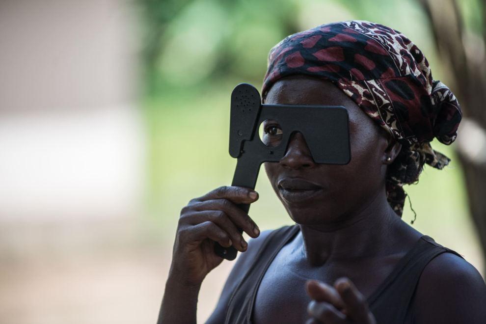 Muchos de los supervivientes tienen problemas de visión.