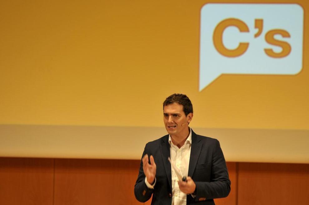 Albert Rivera presenta su reforma institucional en Cádiz.