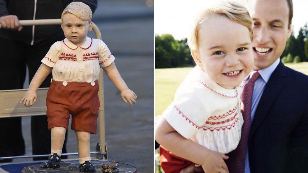 d3e934c91 El príncipe Jorge hecho en bizcocho gana un concurso de pasteles ...