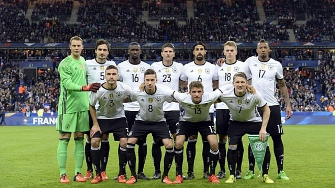 Alemania Paso La Noche En Los Vestuarios Del Stade De France Y Duda
