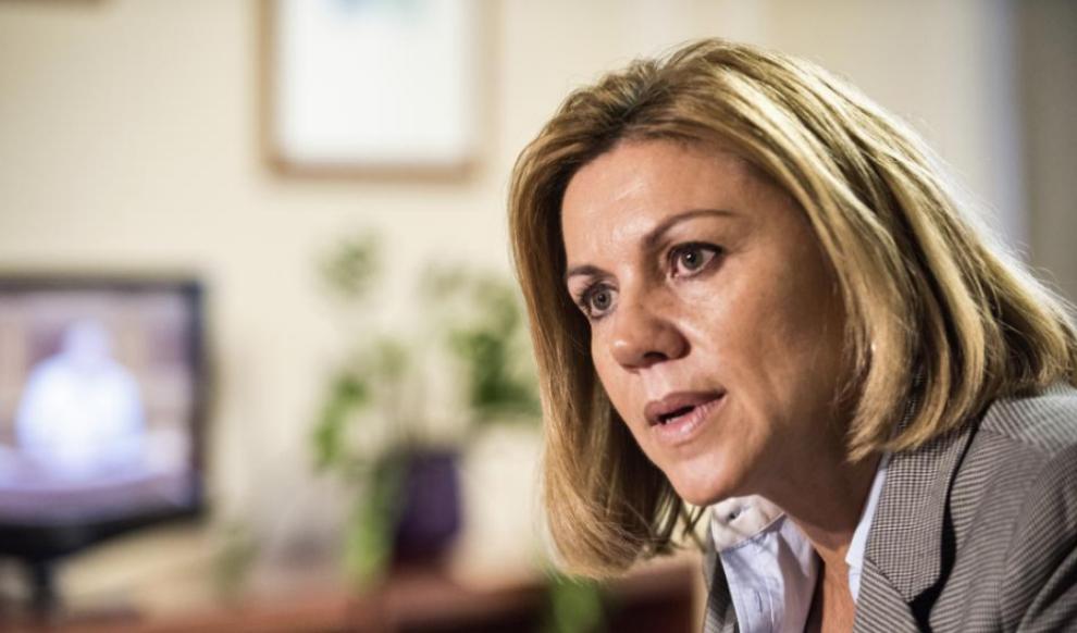 María Dolores de Cospedal, secretaria general del PP.