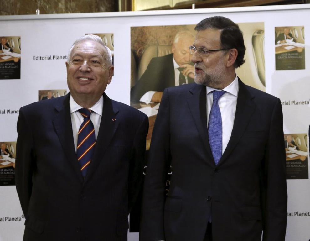 Mariano Rajoy y García-Margallo, en la presentación celebrada en...