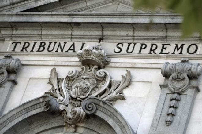 Fachada del edificio del Tribunal Supremo en Madrid