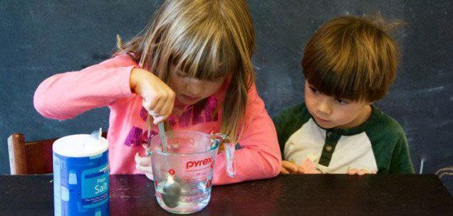 ed1d0022c Cuatro experimentos científicos para hacer en casa con los niños ...