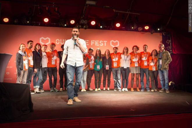 Acto de presentación del OuiShare Fest de Barcelona