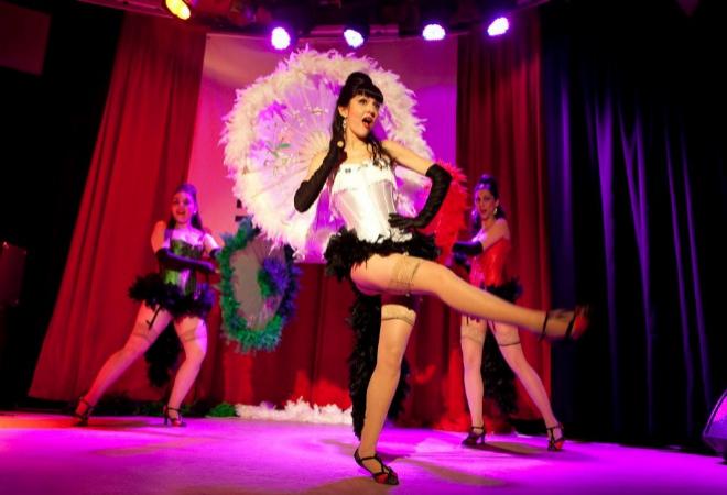 Bailarinas de burlesque