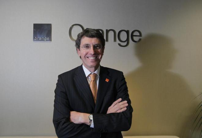 el Consejero Delegado de la empresa Orange España Jean Marc Vignolles