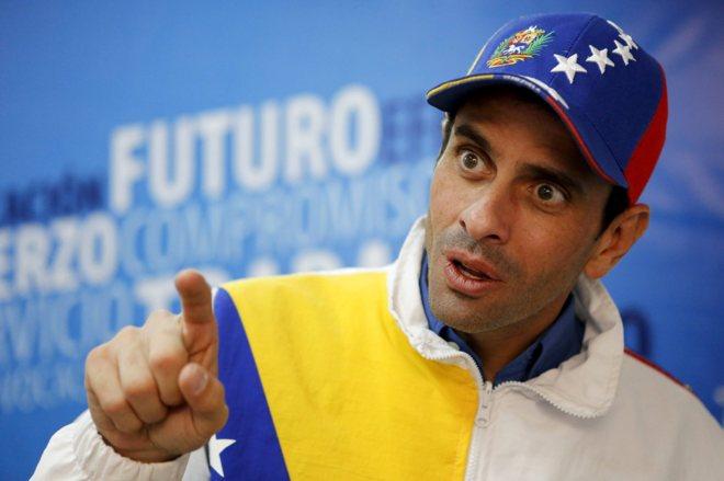 Henrique Capriles: 'Venezuela es una bomba que está a punto de explotar' | Internacional | EL MUNDO