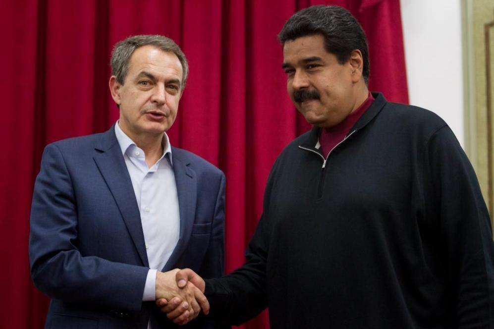 El expresidente del Gobierno español José Luis Rodriguez Zapatero...