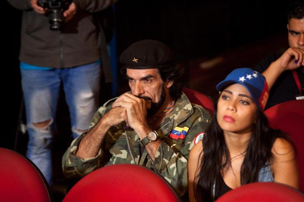 Vista del comando Bolivar-Chavez en Caracas (Venezuela), que agrupa a...
