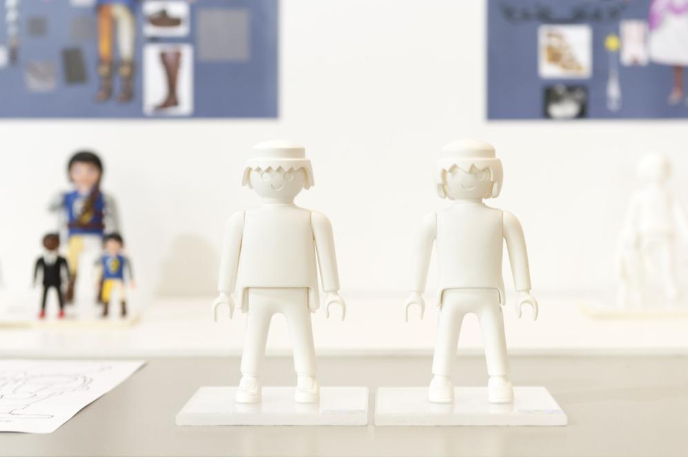 Los primeros moldes, dentro del proceso de diseño.