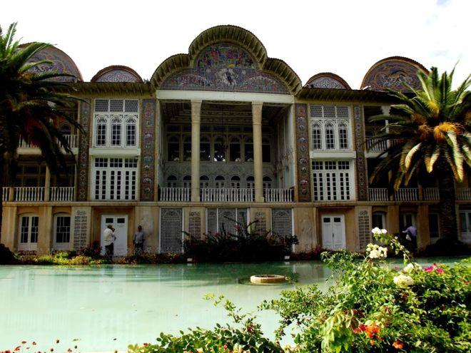 Imagen de los Jardines Eram de la ciudad de Shiraz, Patrimonio de la...
