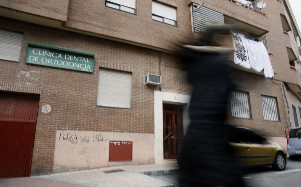 Exterior de la vivienda ubicada en la calle Cañón número 3 de...