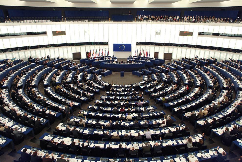 Vista de un pleno del Parlamento Europeo.