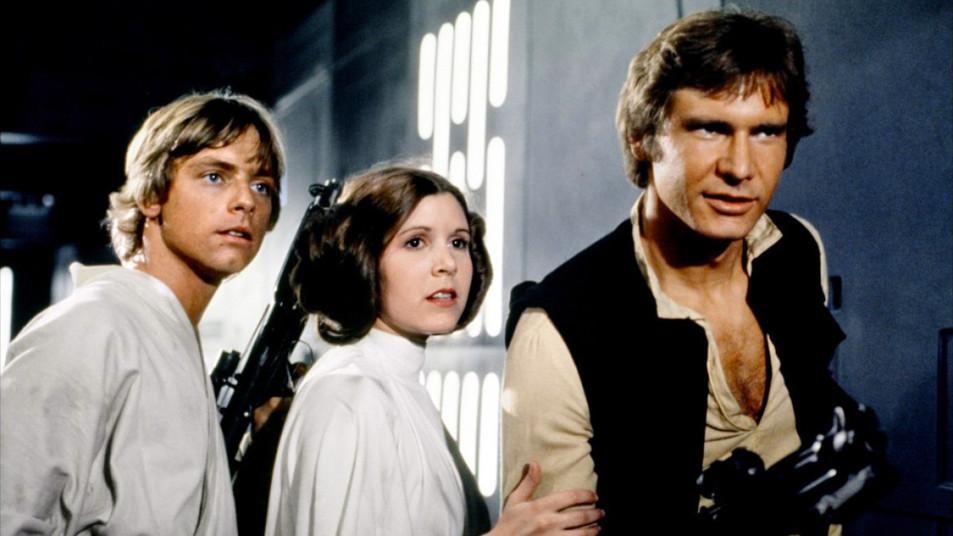 Los protagonistas de las tres primeras películas.