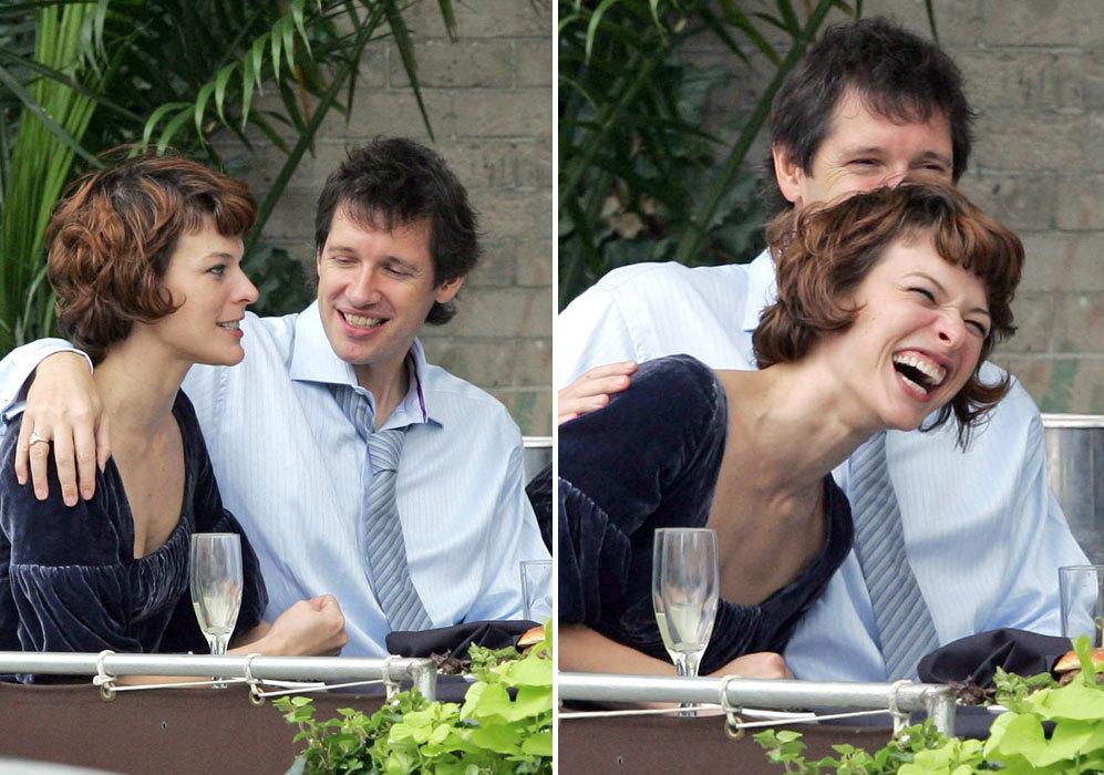 Adem s milla jovovich y su pareja paul loc el mundo - Sofia diva futura ...