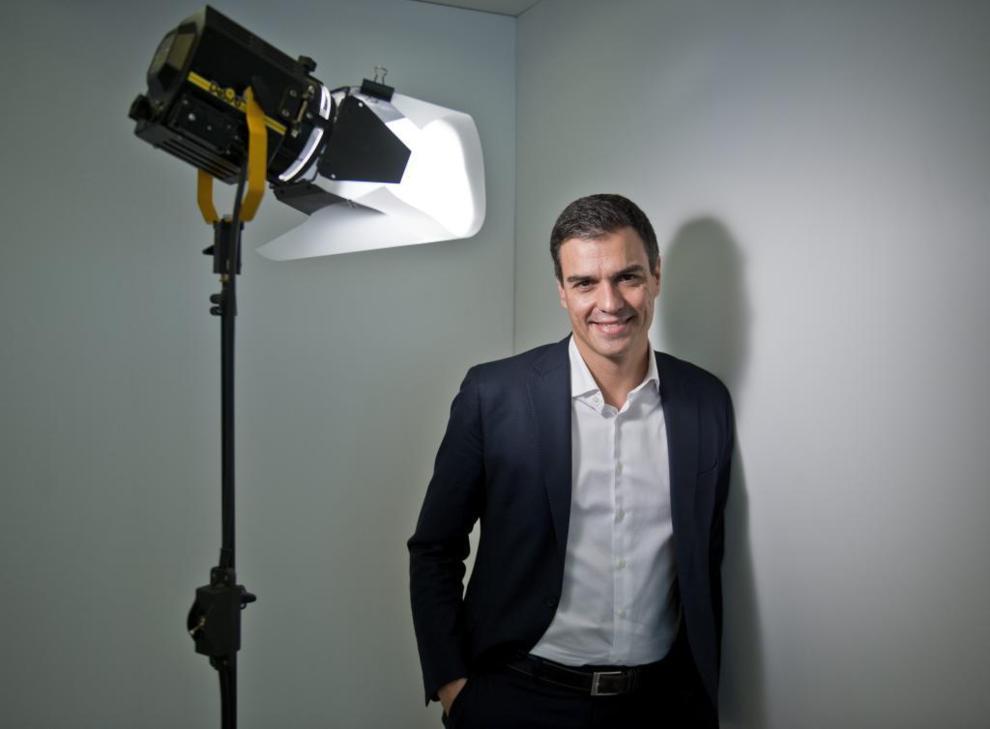 El candidato del PSOE a la Presidencia, Pedro Sánchez.