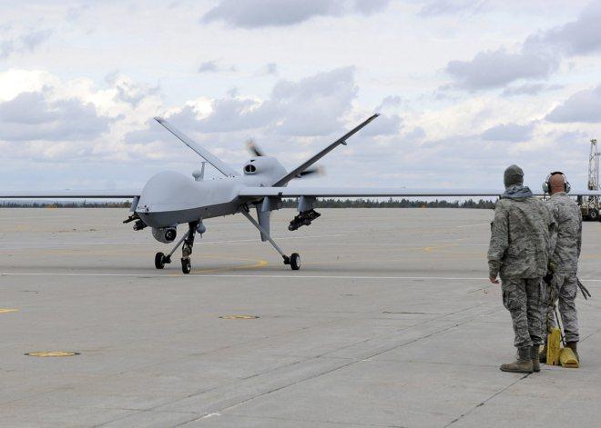 Modelo de dron militar 'Reaper', del que España acaba de comprar...