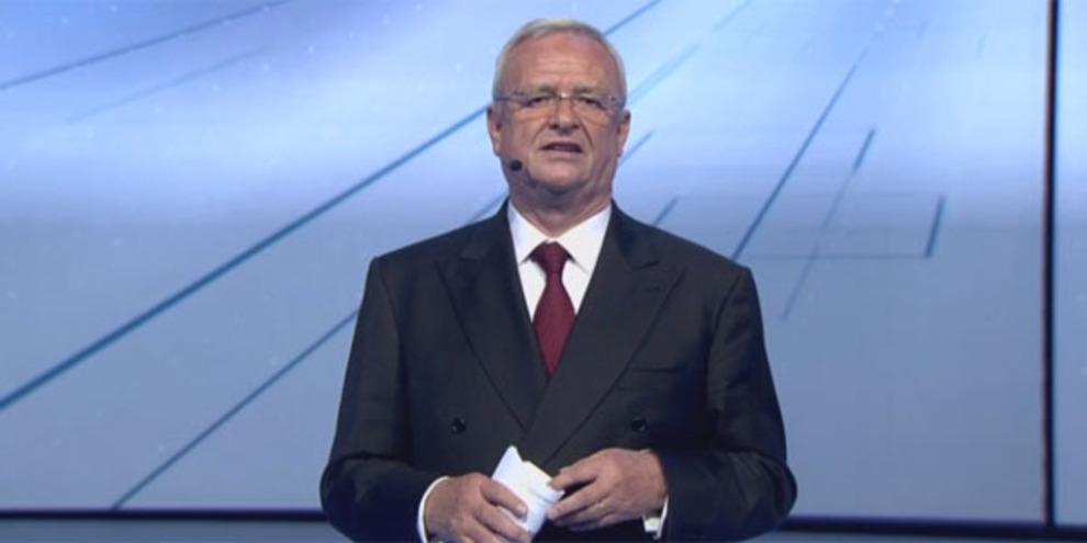 Martin Winterkorn, ex consejero delegado del grupo Volkswagen