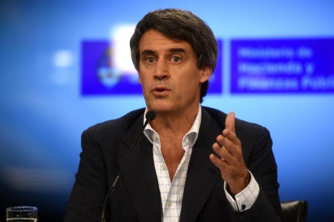 El ministro argentino de Hacienda, Alfonso Prat-Gay.