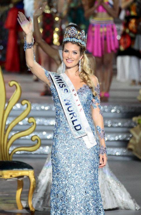 Mireia Lalaguna ha conseguido ser la primera española Miss Mundo en...