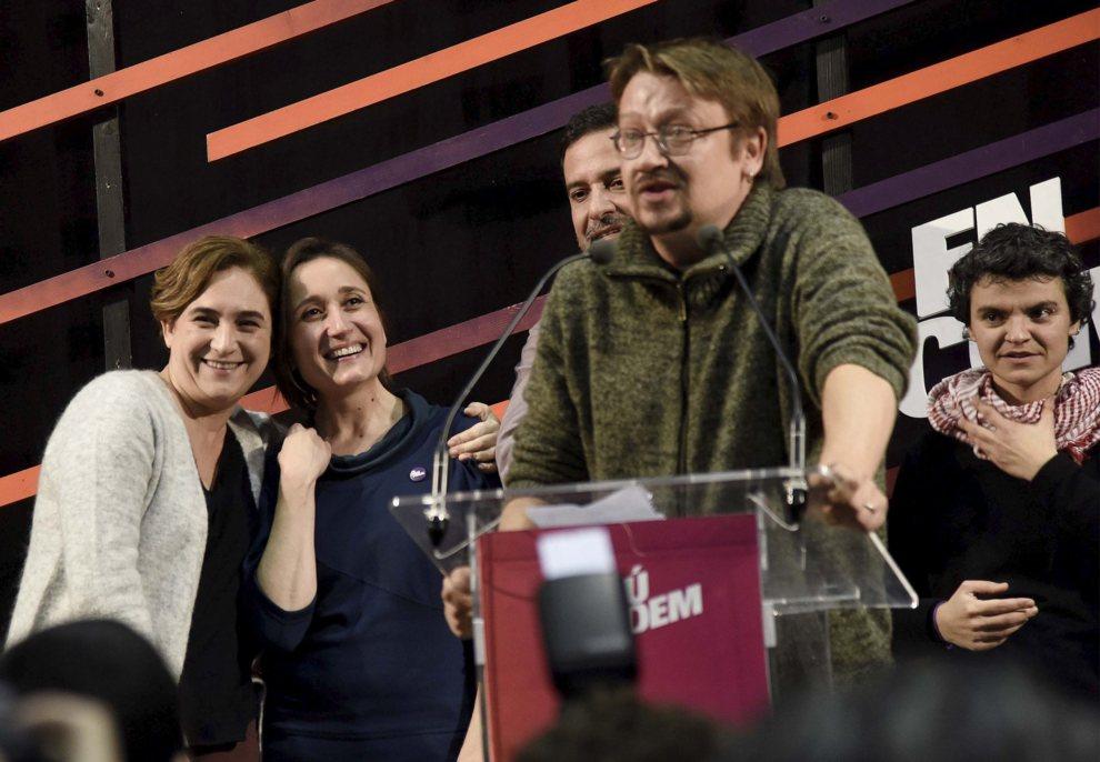 El 'número uno' de En Comú Podem por Barcelona, Xavier Domènech,...