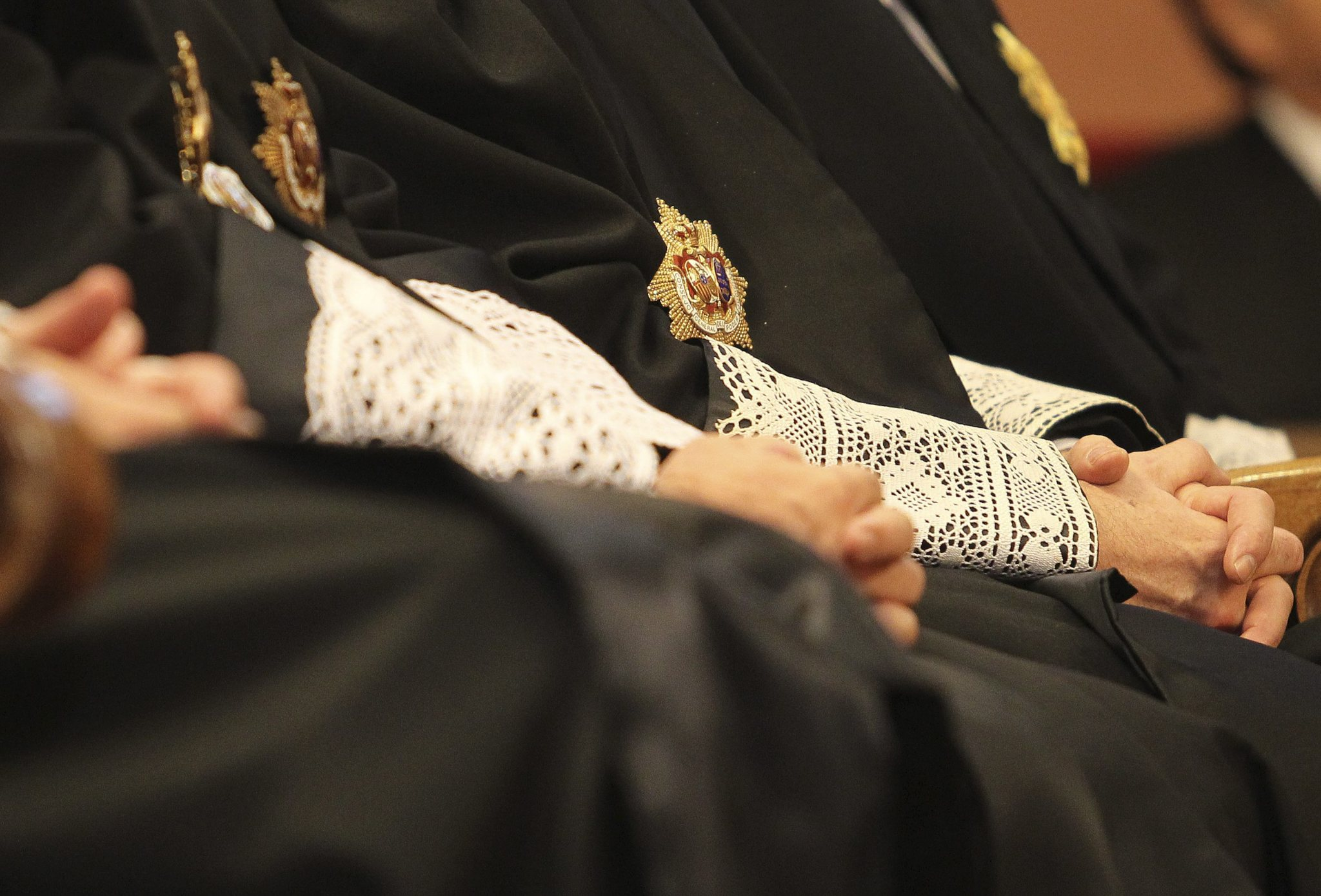 Imagen de representantes del poder judicial