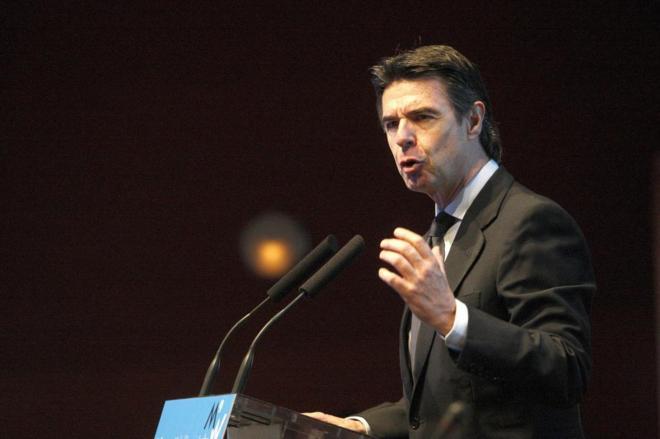 José Manuel Soria, ministro de Industria, durante una la Semana...