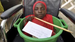 Rahama Haruna, fotografiada en Kano, la ciudad de Nigeria en la que...