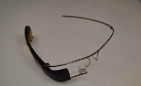 Imagen de las Google Glass: Edition Enterprise obtenida de la Federal...