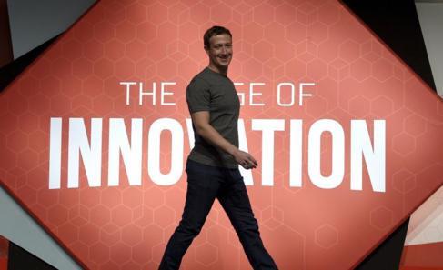Zuckerberg, en el Mobile World Congress celebrado el año pasado en...