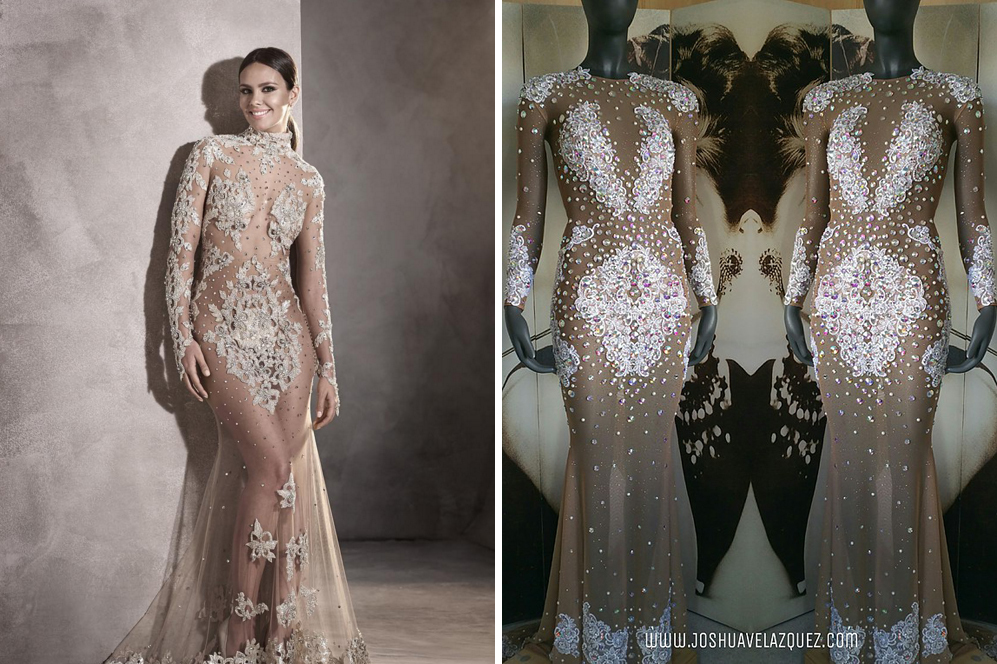 ff0d74a9d El vestido de Nochevieja de Cristina Pedroche