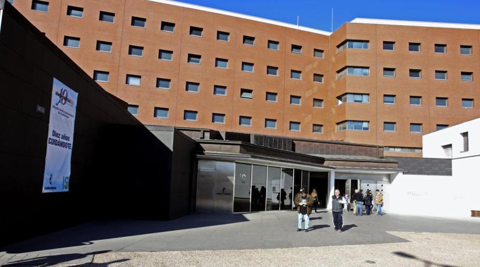 Hospital de Ciudad Real, donde permanecen ingresados algunos de los...