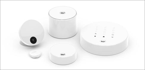 Sistema Wardiam de seguridad doméstico y autoinstalable de Ontech.