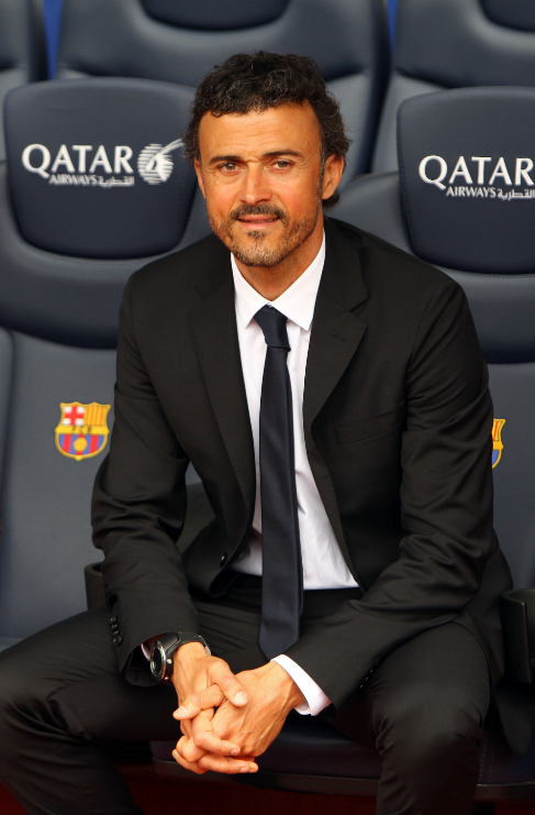 <strong>Luis Enrique (45).</strong> Es el más mayor del ránking pero...