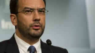 Antonio Hernando, portavoz socialista en el Congreso de los Diputados.
