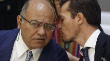 Gerardo Díaz Ferrán, ex presidente de Marsans, junto a su abogado el...