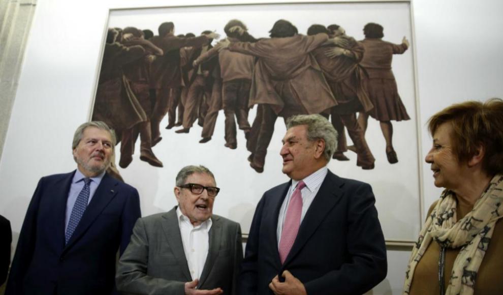Íñigo Méndez de Vigo, Juan Genovés, Jesús Posada y Celia...
