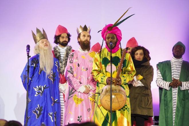 Fotos De Los Reye Magos.Los Trajes De Los Reyes Magos Hacian Referencia A Un