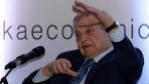 George Soros, en un foro económico celebrado en Colombo (Sri Lanka)...